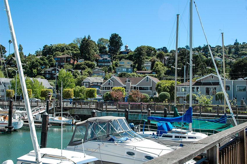 Sausalito-Houseboat