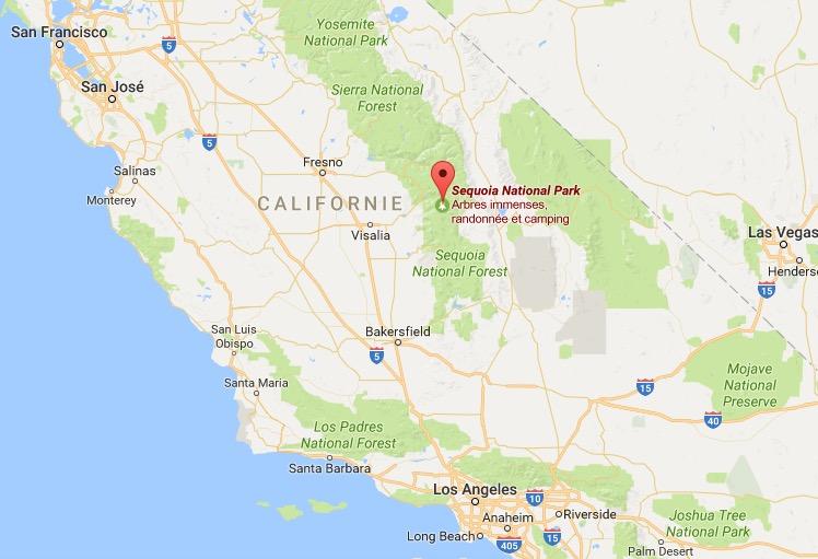 visiter sequoia park et yosemite national park en californie. Black Bedroom Furniture Sets. Home Design Ideas