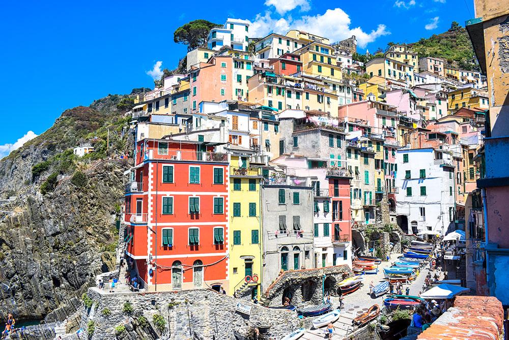 Riomaggiore-maisons