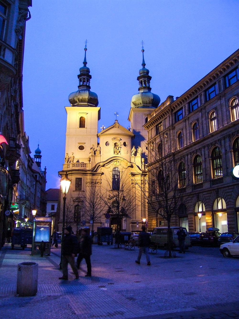 Eglise-Prague