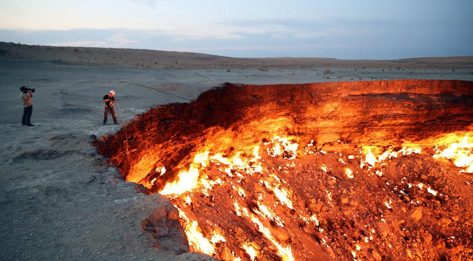 Porte-de-Enfer-Turkmenistan