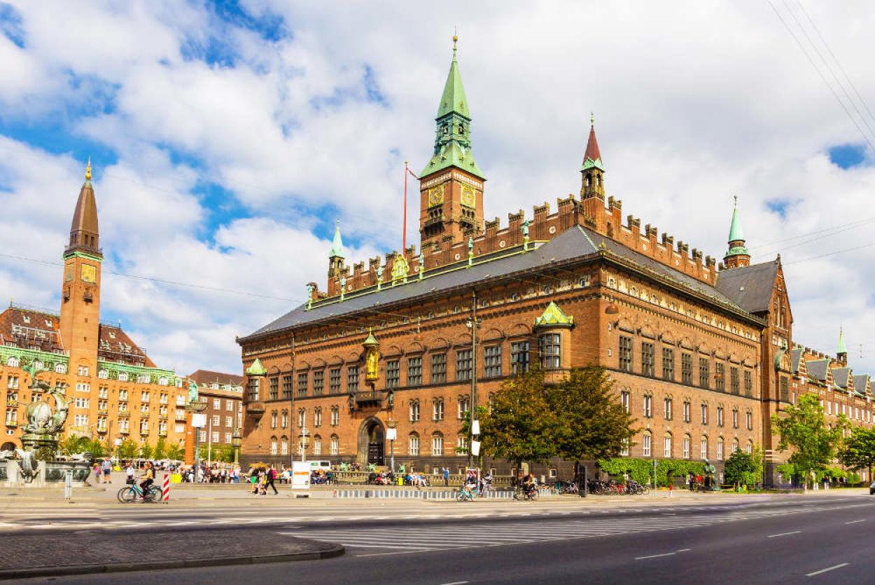 Hôtel de ville Copenhague