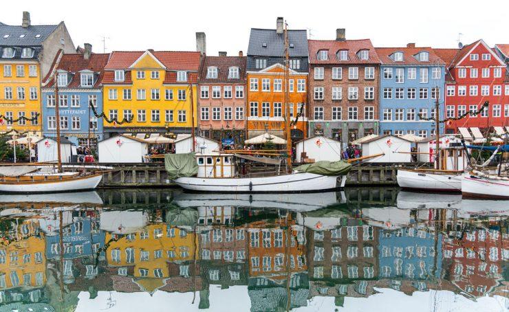 Quartier indre by Copenhague