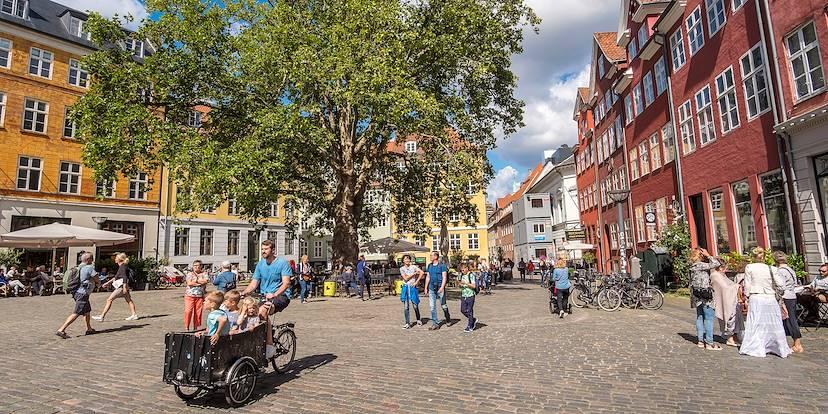 Rue Stroget Copenhague